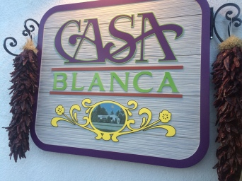 Casa Blanca was pretty good, but expect more of a Tex-Mex flavor.