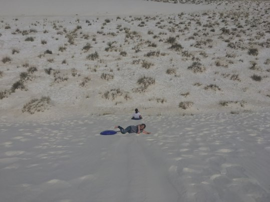 Sledding and rolling