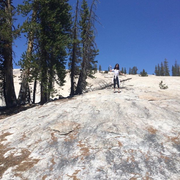 Reminiscing: our hike to 'a dome, not Half Dome' in 2016