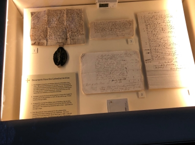 Other historical documents from the Salisbury Cathedral archives