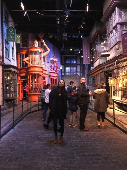 Emily in Diagon Alley