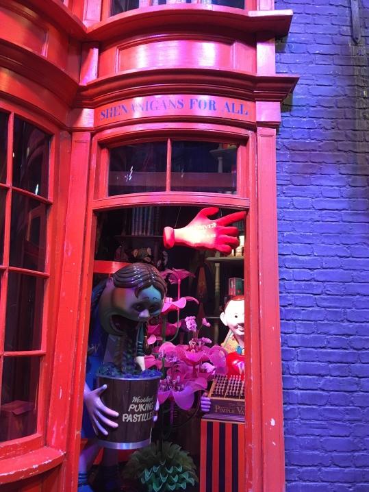 Weasley's Wizard Wheezes joke shop: Shenanigans for all