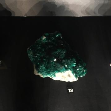 A beautiful specimen of dioptase